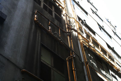 Golden pipes