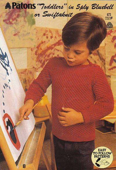 Red toddler jumper