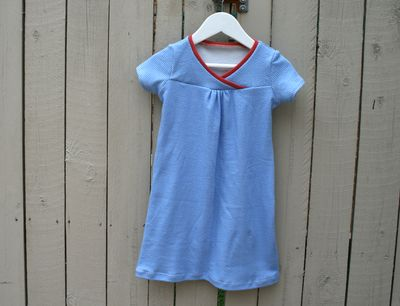 Blue hopscotch dress