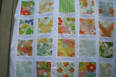Urban chiks dream on charm square quilt