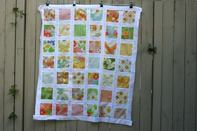 Urban chiks dream on charm square quilt2
