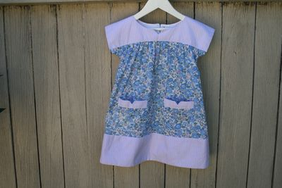 Ice cream dress liberty front