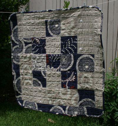 Lap quilt front