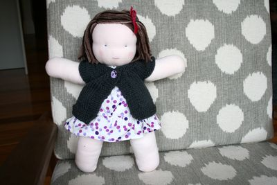 Steiner doll finished front
