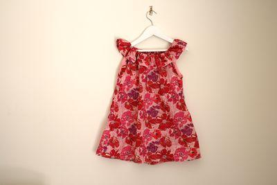 Liberty ruffle dress