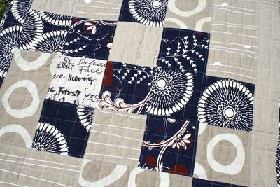 Lap quilt patchwork cloth fabric