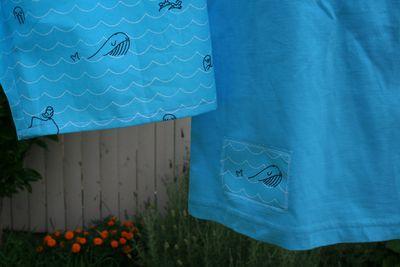 Whale pyjamas