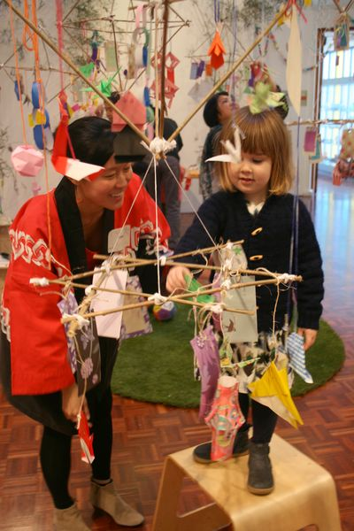 Tanabata at object gallery