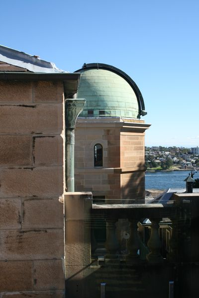 Sydney observatory and harbour