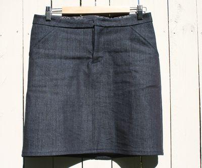 Moss skirt front