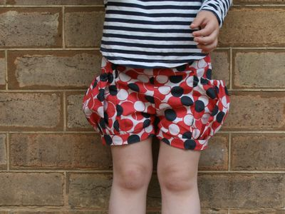 Bubble pocket shorts cu