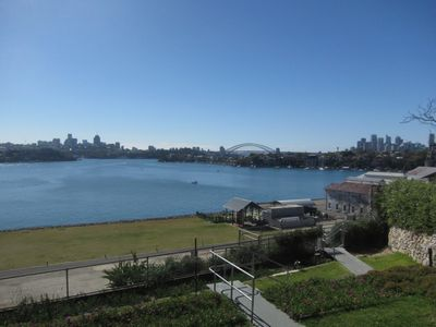 Cockatoo island view