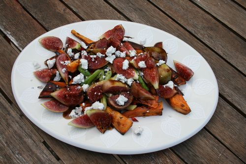 Ottolenghi sweet potato fresh figs