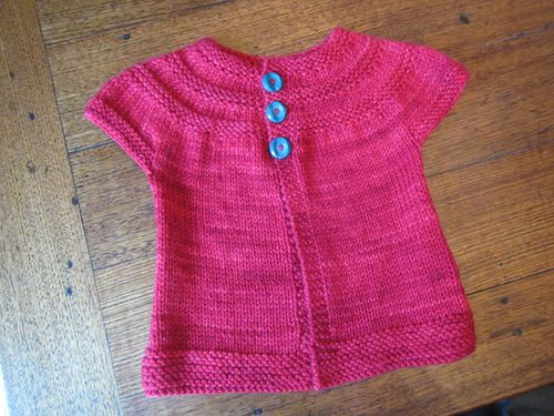Ella's cardigan for ravelry