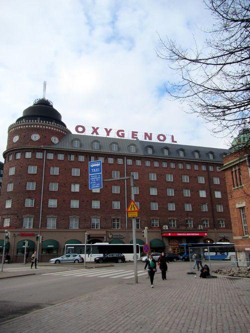 Oxegenol building helsinki