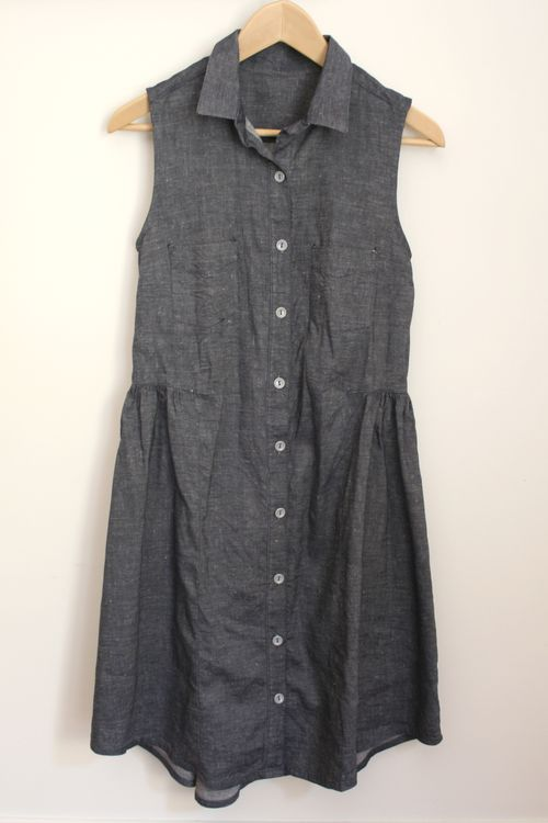 Chambray alder dress2