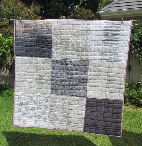 Map quilt whole