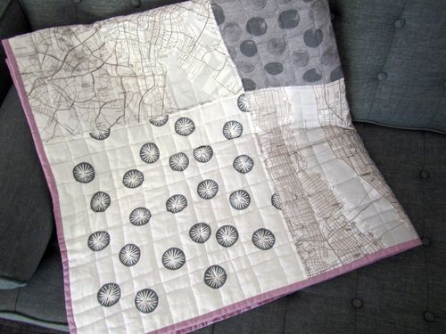 Map quilt corner 3