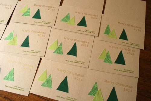 Gocco christmas cards